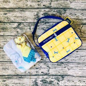Cute Blanket/Security Blanket/Diaper Bag Bundle